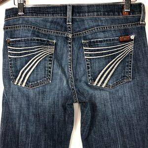 7 for all Mankind DOJO Jeans Flare 28x30